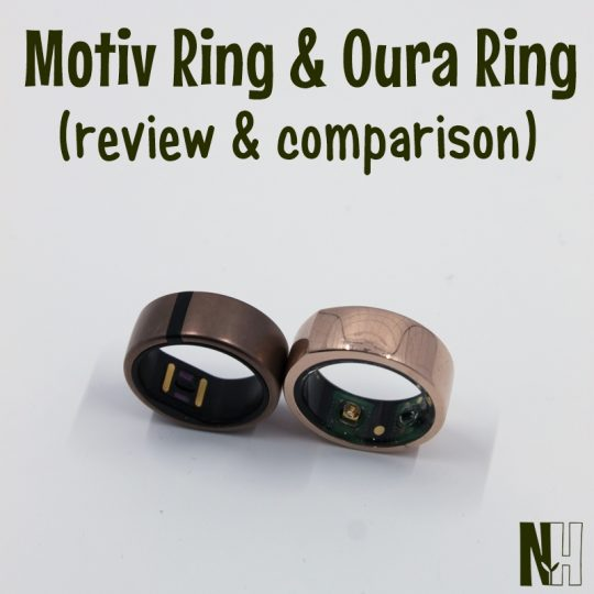 review and comparison of Motiv ring and Oura ring
