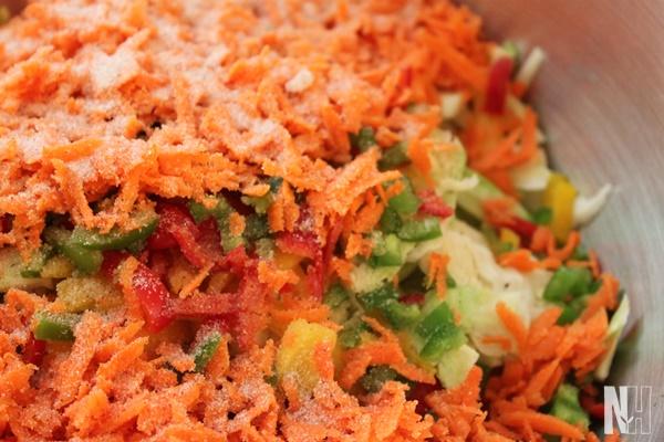 ingredients for salsa kraut